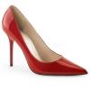 CLASSIQUE-20 Red Patent